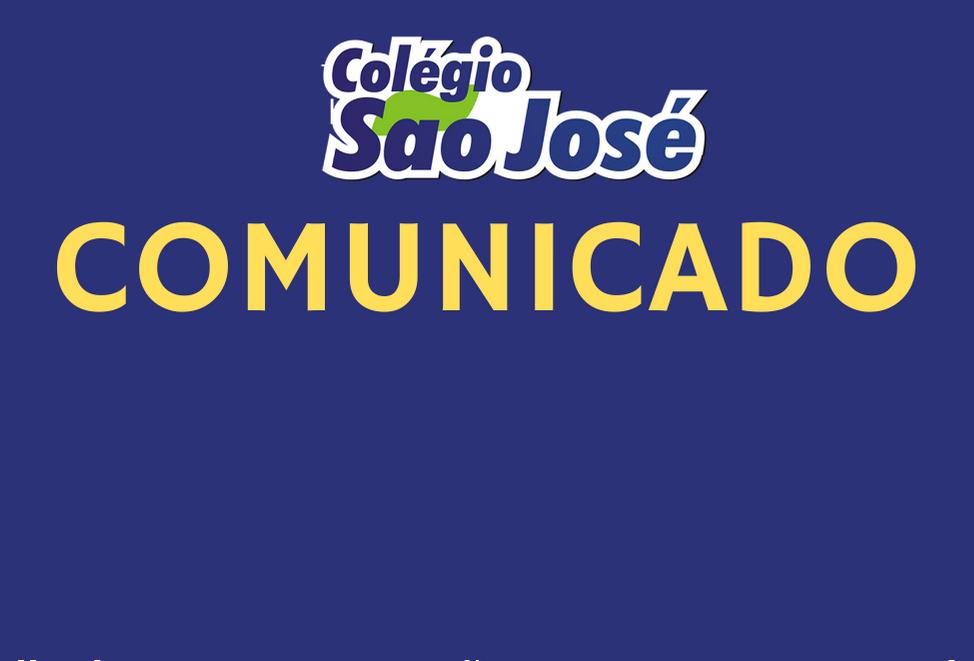 Comunicado – Volta às Aulas 2021
